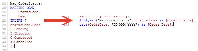 QlikView ApplyMap - Quick Intelligence