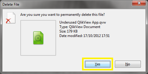 Are You Sure You Wish To Delete