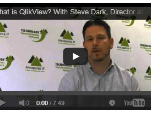 QlikView On The Technology Transformation Network