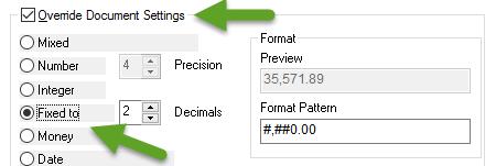 Set QlikView Number Format