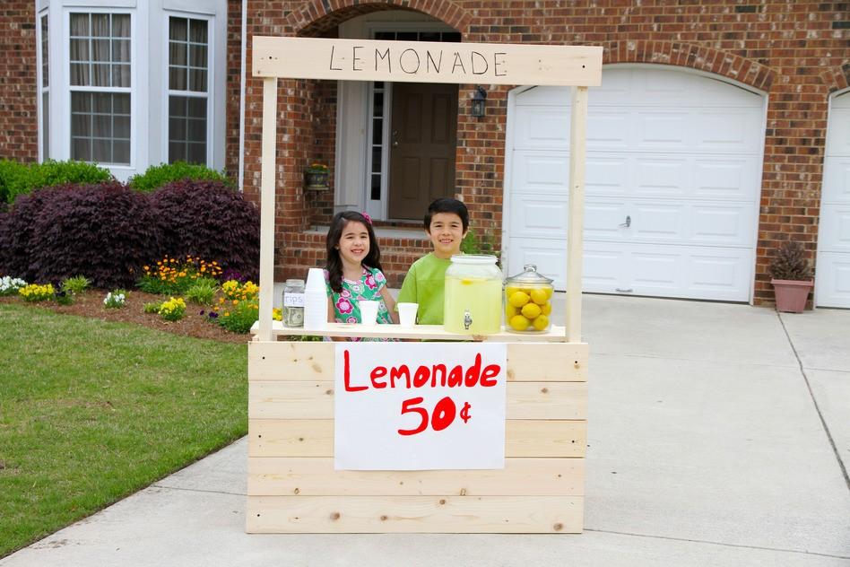 Boy's lemonade stand raises money for fallen cop's family