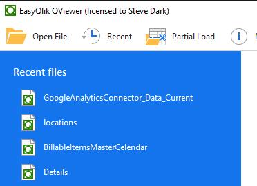 QViewer MRU List