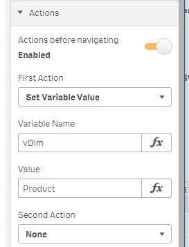Sense Button Actions