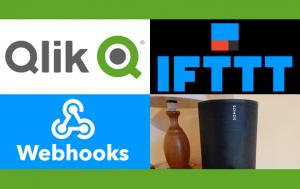 Qlik, IFTTT, Webhooks and Sonos