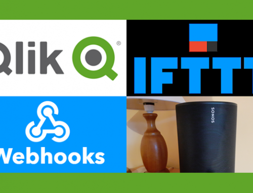 Triggering events with Qlik, IFTTT and Webhooks